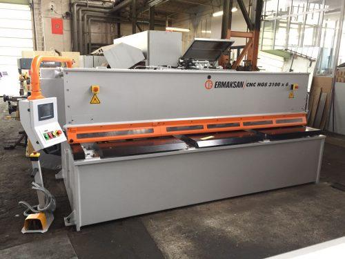 ERMAK CNC HGS 3100×6 – Hydr. Guillotinsaxar