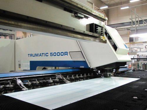 TRUMPF TruMatic 5000 R – FMC – Mașină De Perforat și Ciugulit