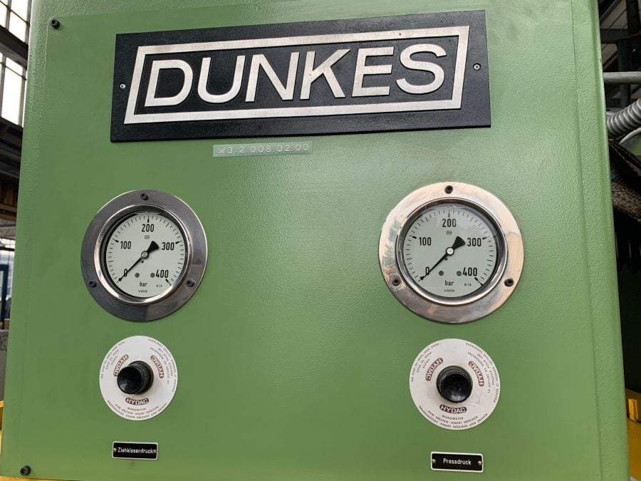 DUNKES HEZ 16 - Hydr. Presse