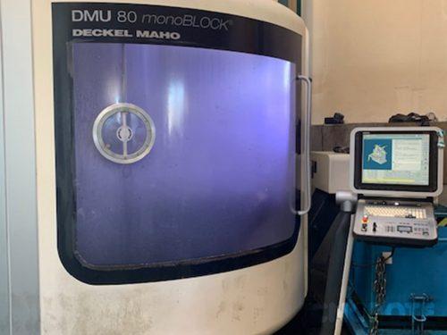 Deckel Maho DMU 80 monoblock Обработващ център