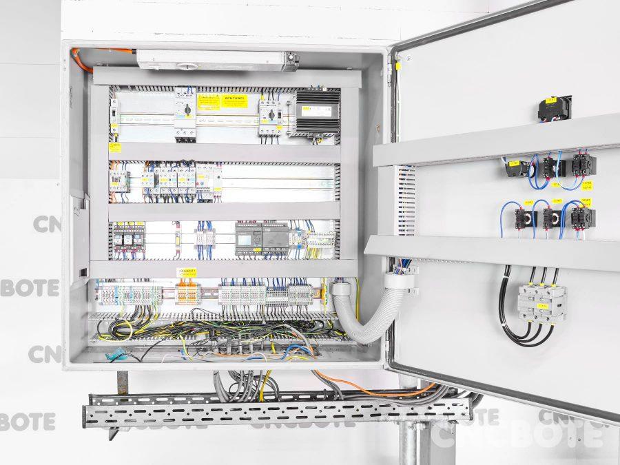 Haslach ZVA540 + FZ20.000 + TP-A322 Späneabsaugung