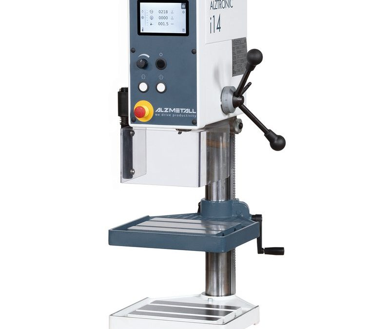 ALZMETALL ALZTRONIC i14 - Tischbohrmaschine