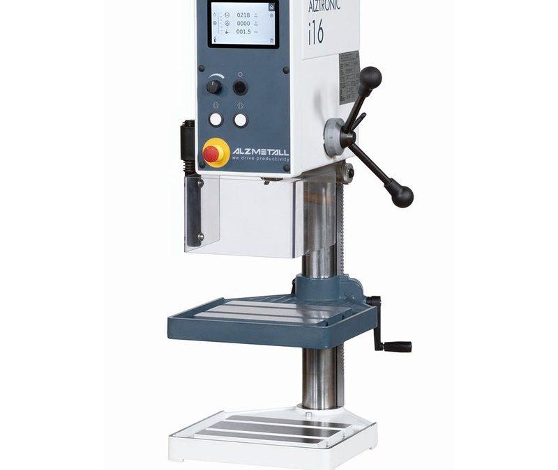 ALZMETALL ALZTRONIC i16 - Tischbohrmaschine
