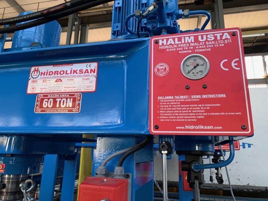 HIDROLIKSAN HD 60 - hydr. Werkstattpresse
